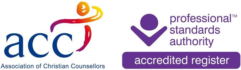 Registered ACC (Association of Christian Counsellors). Counsellor, Member Register no R000389